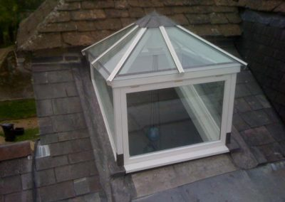 A square roof lantern