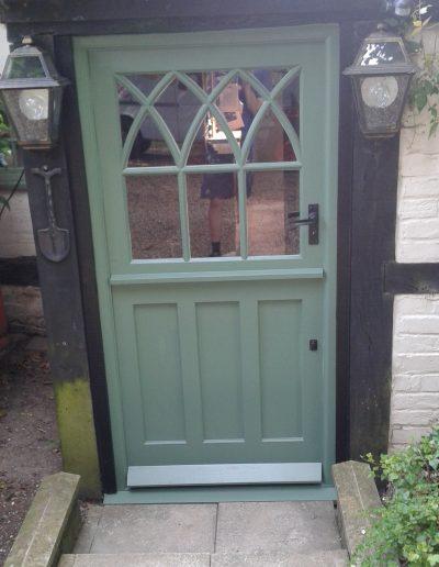Green stable door