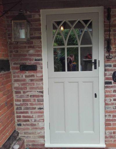 White stable door