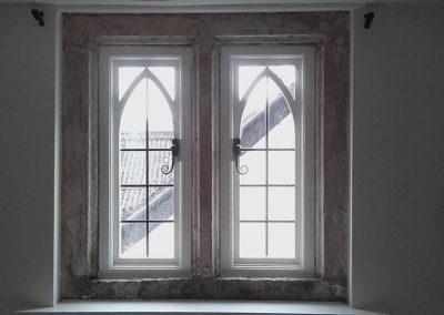 gothic timber window