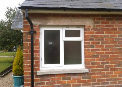 obscure timber window