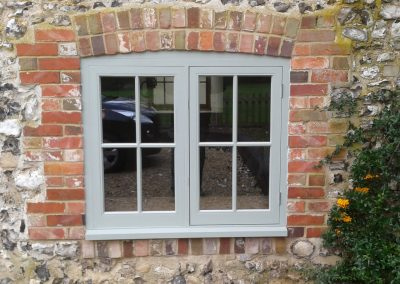 cottage timber window
