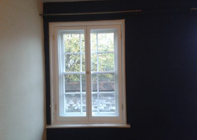 timber secondary glazing