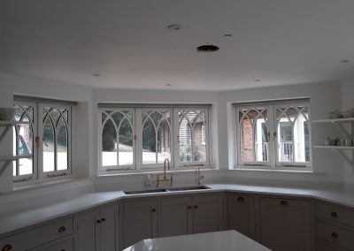 gothic timber windows