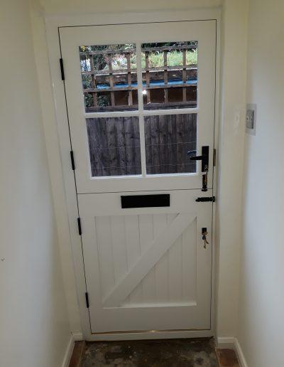 stable door inside