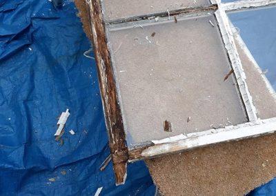 Before sash repairs 2