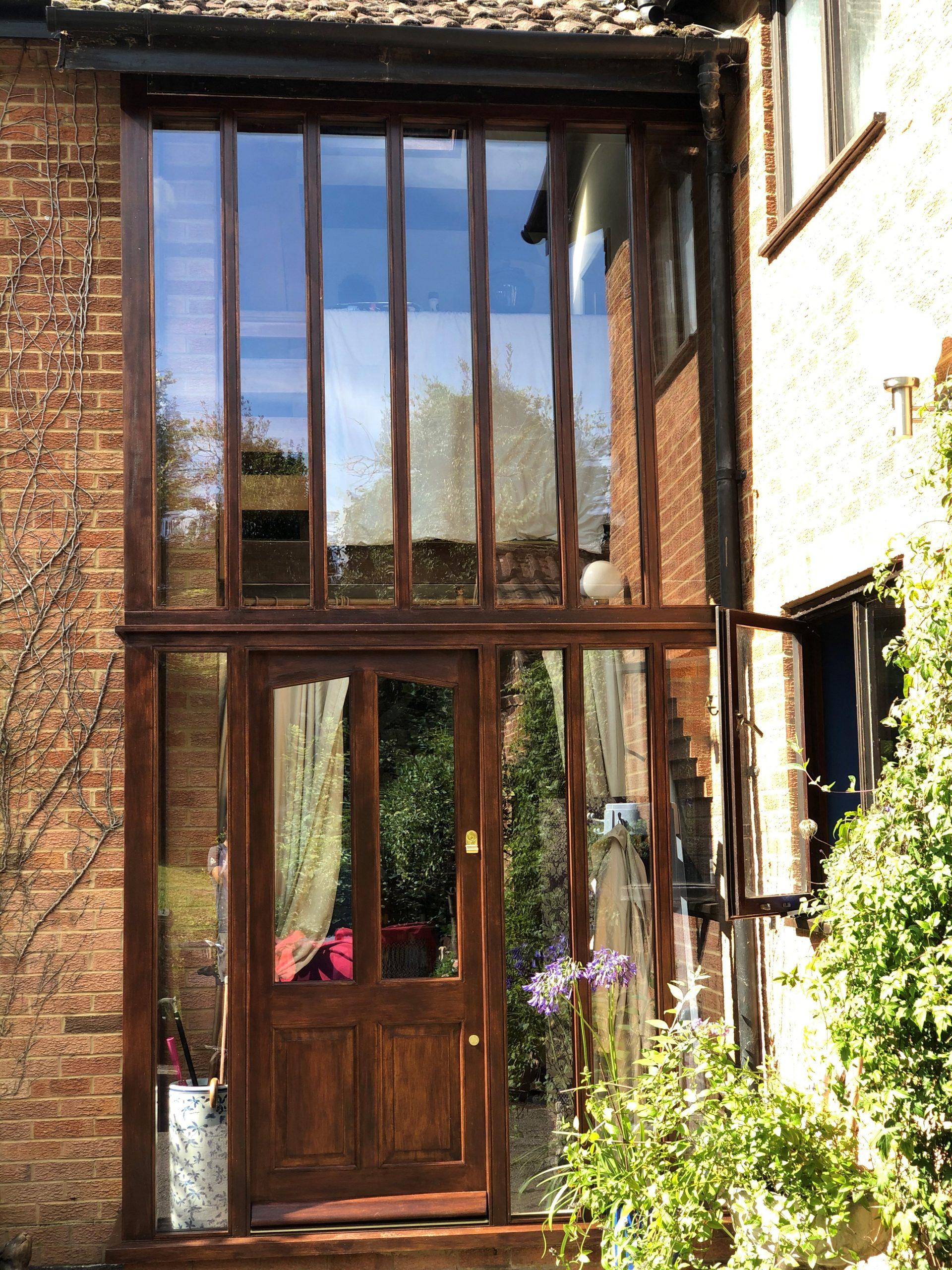 Door screen